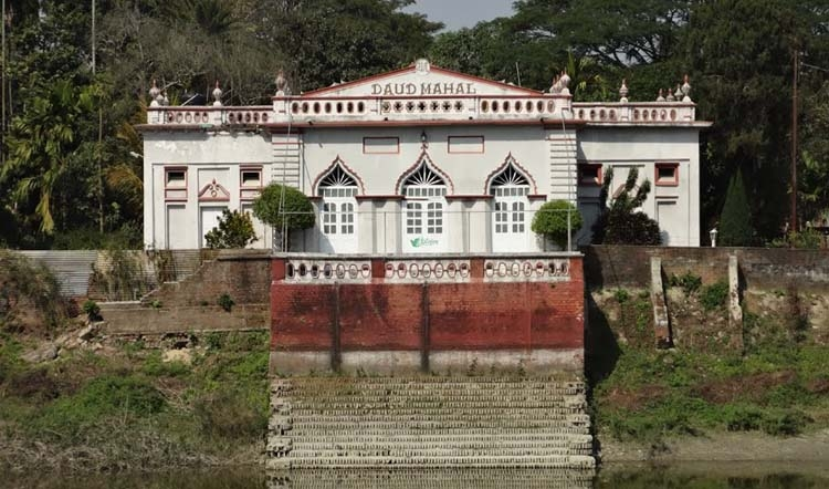 Famous Zamindar palace in Tangail
