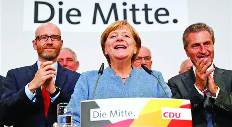 Angela Merkel: Victory  of Leadership