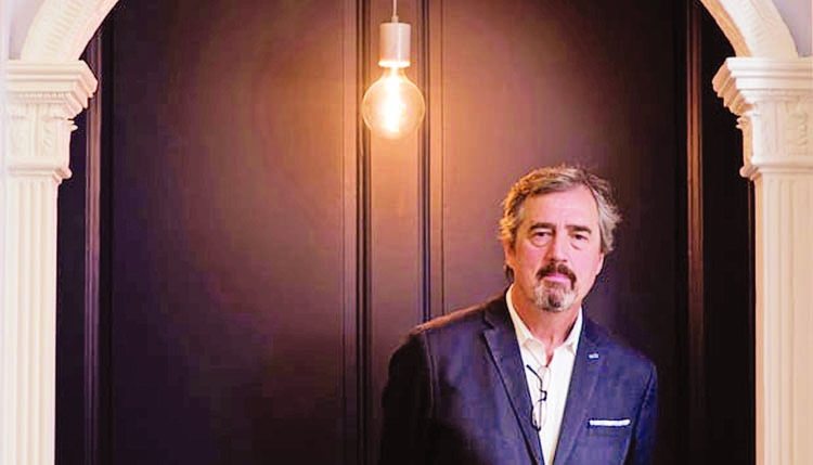 Sebastian Barry: You get imprisoned in a kind of style, I could feel it leaning on me