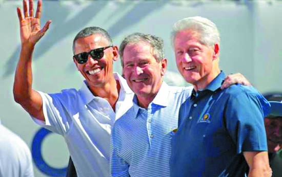 Three US presidents and their ways