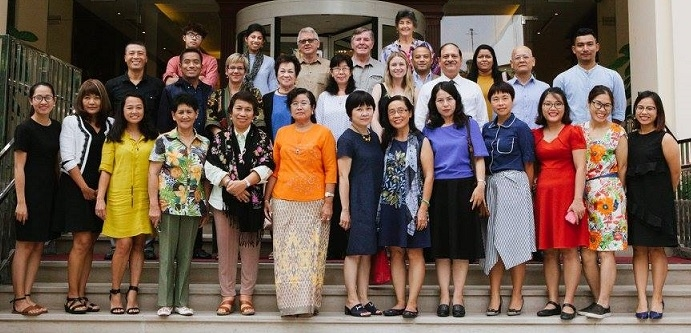 4th ISC meeting on 9th APCSRHR held in Vietnam