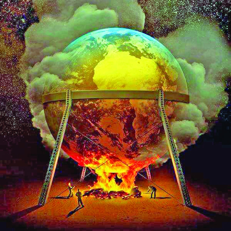 Is our irresponsibility liable to gear up climate change?