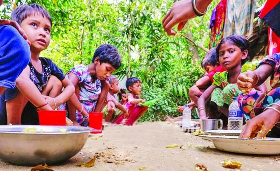 Immunization campaign among Rohingyas