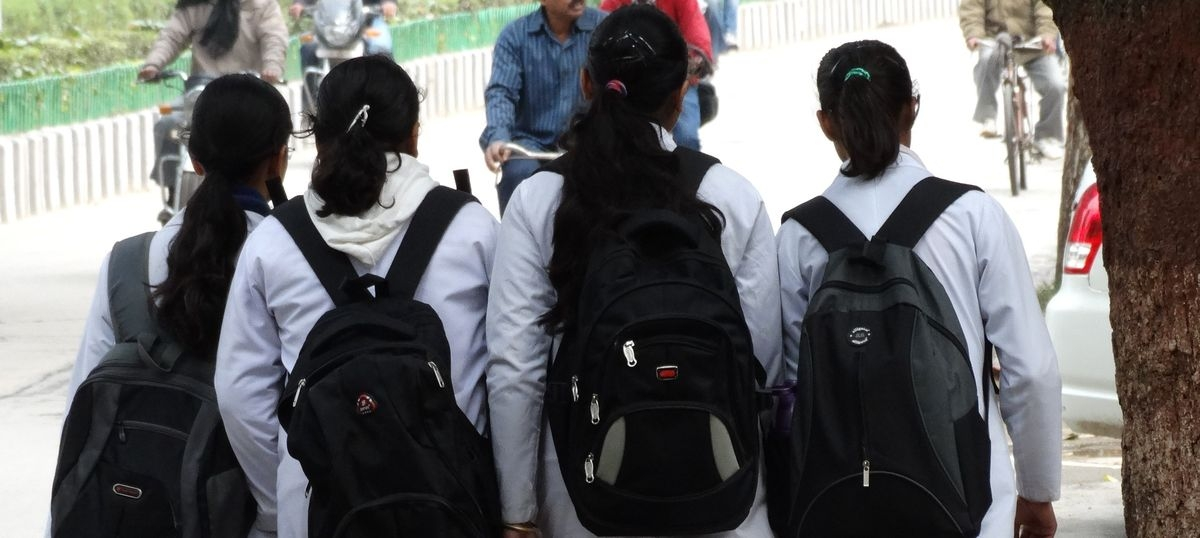 Govt-approved books in school bags