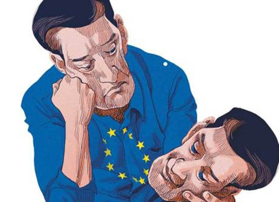 Europe's wounds have not healed