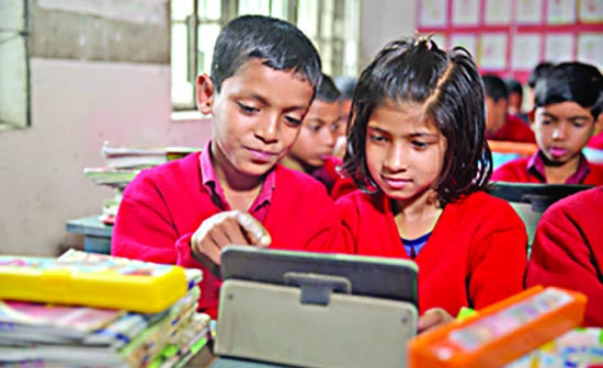 'Digital learning can improve literacy skills of children'