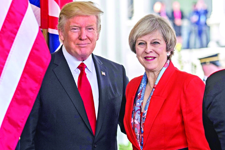 Trump to visit UK in early 2018