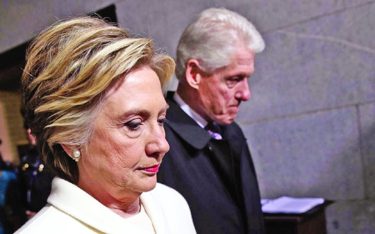 Bill and Hillary haven't  spoken in months