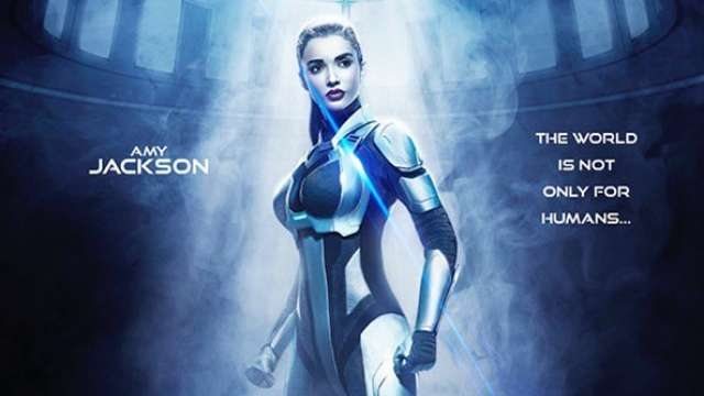 Amy Jackson's first look in Rajinikanth's 2.0 out