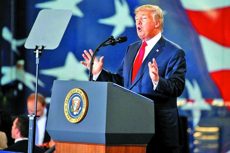 Trump again blasts Iran nuclear deal