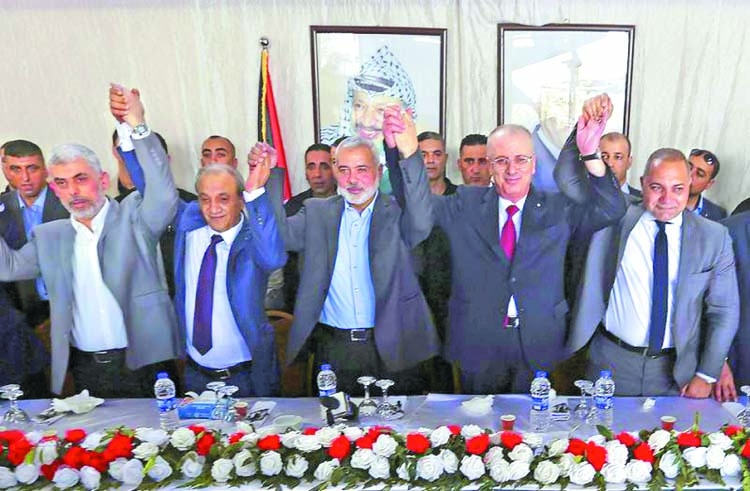 Palestinian factions reach deal in Cairo
