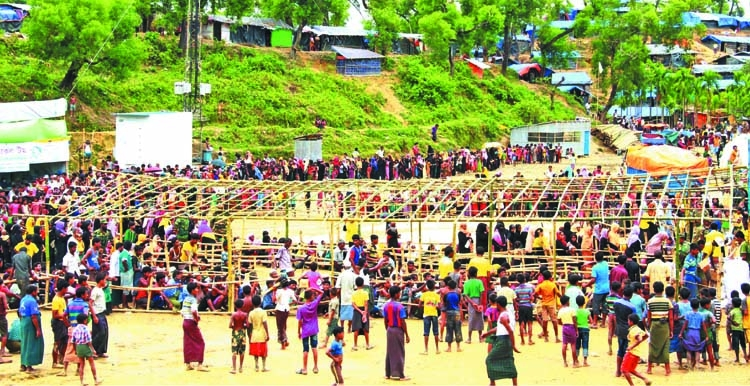 'Rohingya villages burnt beyond recognition'