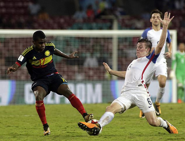 US loses to Colombia 3-1 at Under-17 World Cup