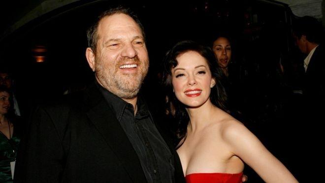 Rose McGowan accuses Weinstein of rape