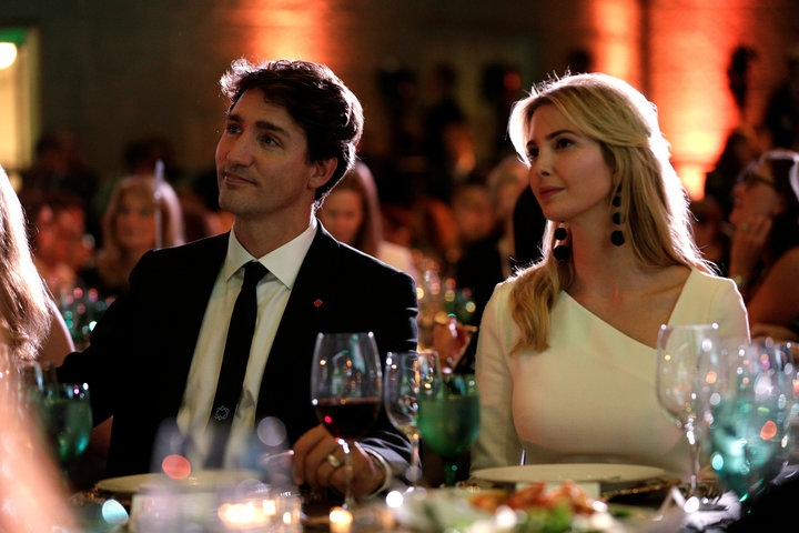 Ivanka, Trudeau continue their chummy relationship