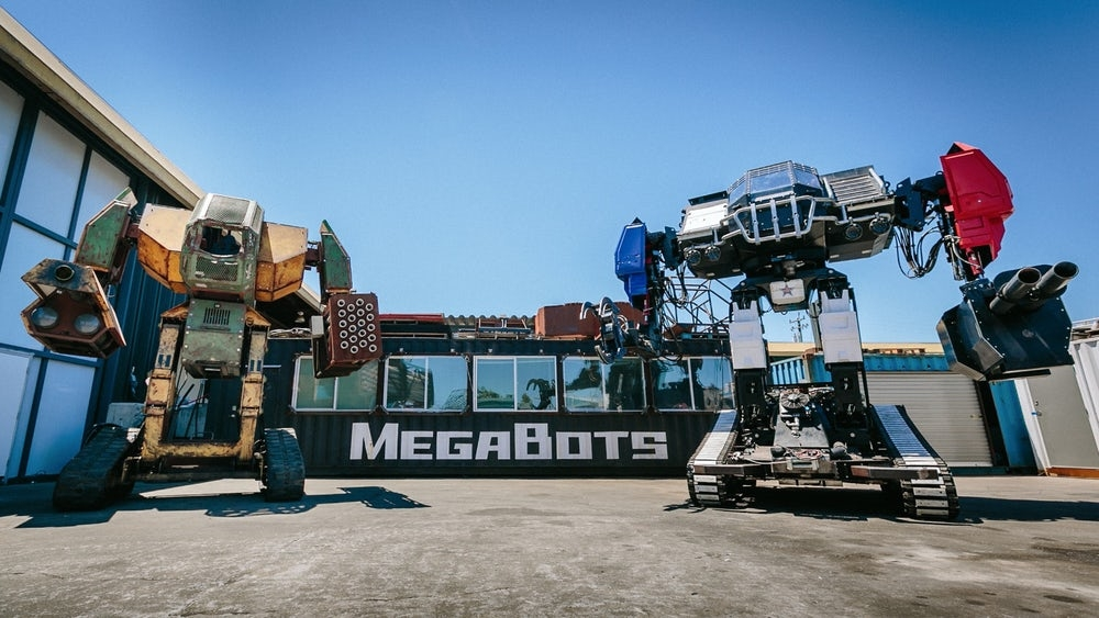 WATCH: America's giant fighting robot
