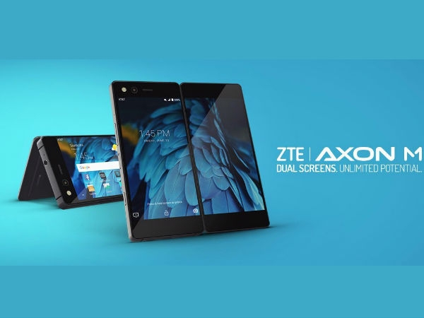 ZTE dual-screen foldable smartphone launched