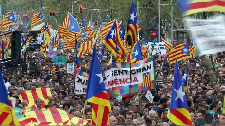 Catalan 'won't follow orders from Madrid'
