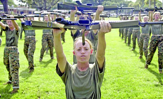Military women, too, should serve unmolested