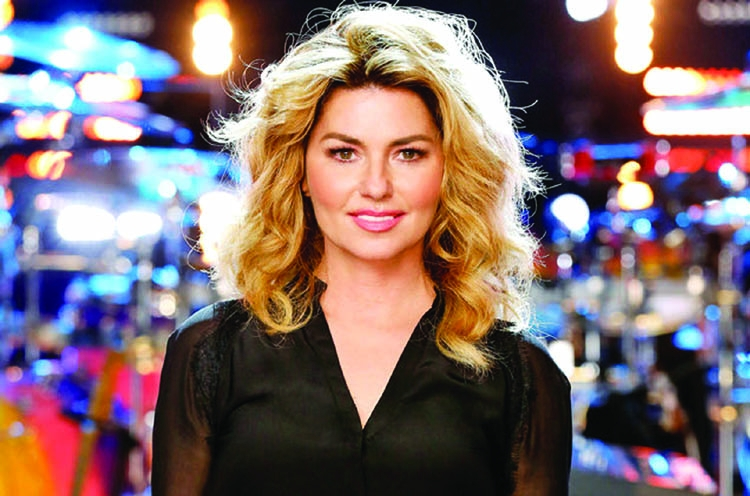 Shania Twain to guest judge on Dancing  With the Stars