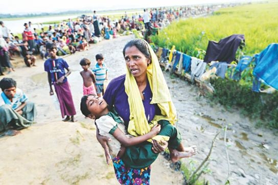 IC $340m pledged for Rohingya
