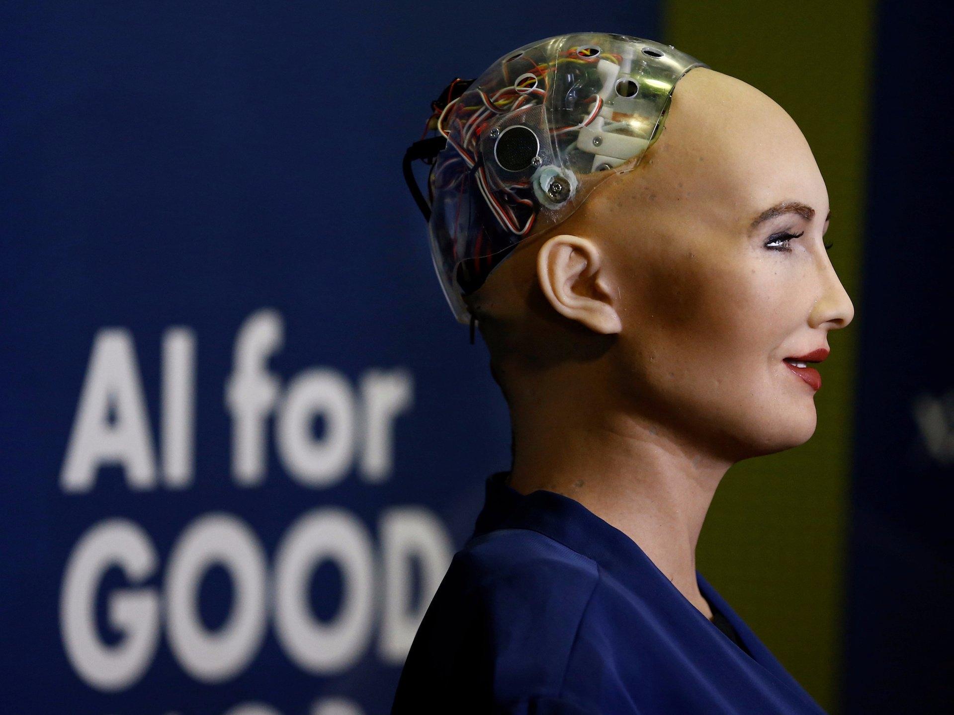 Meet Sophia, world's first robot with a citizenship
