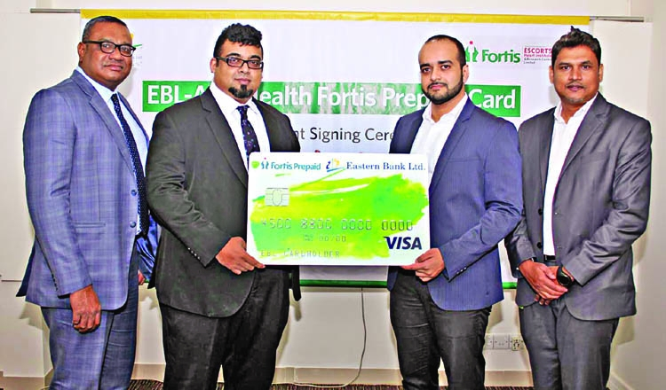 ebl launches visa prepaid card with fortis