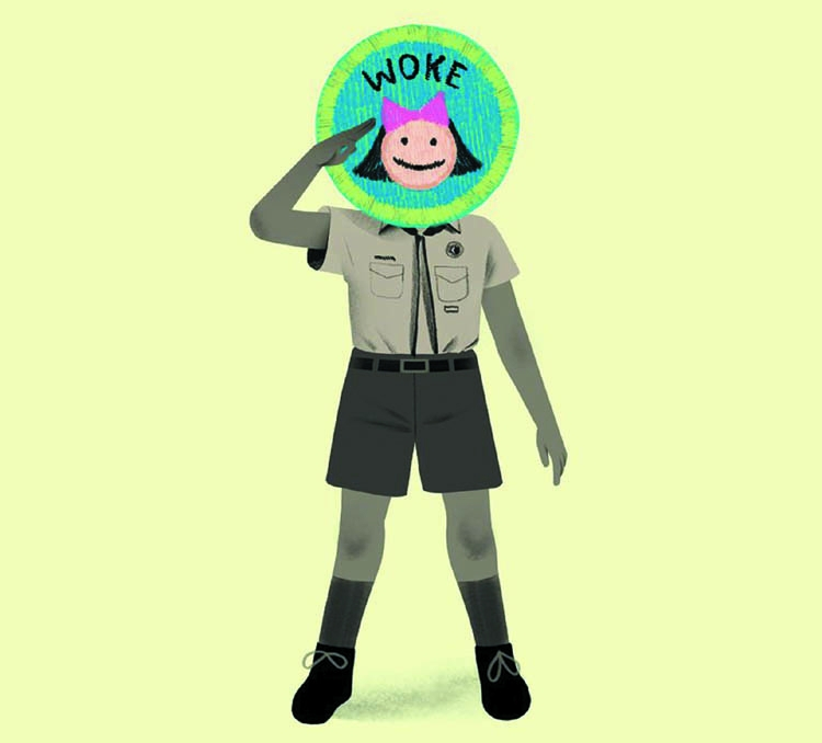 Girls, don't  become Boy Scouts