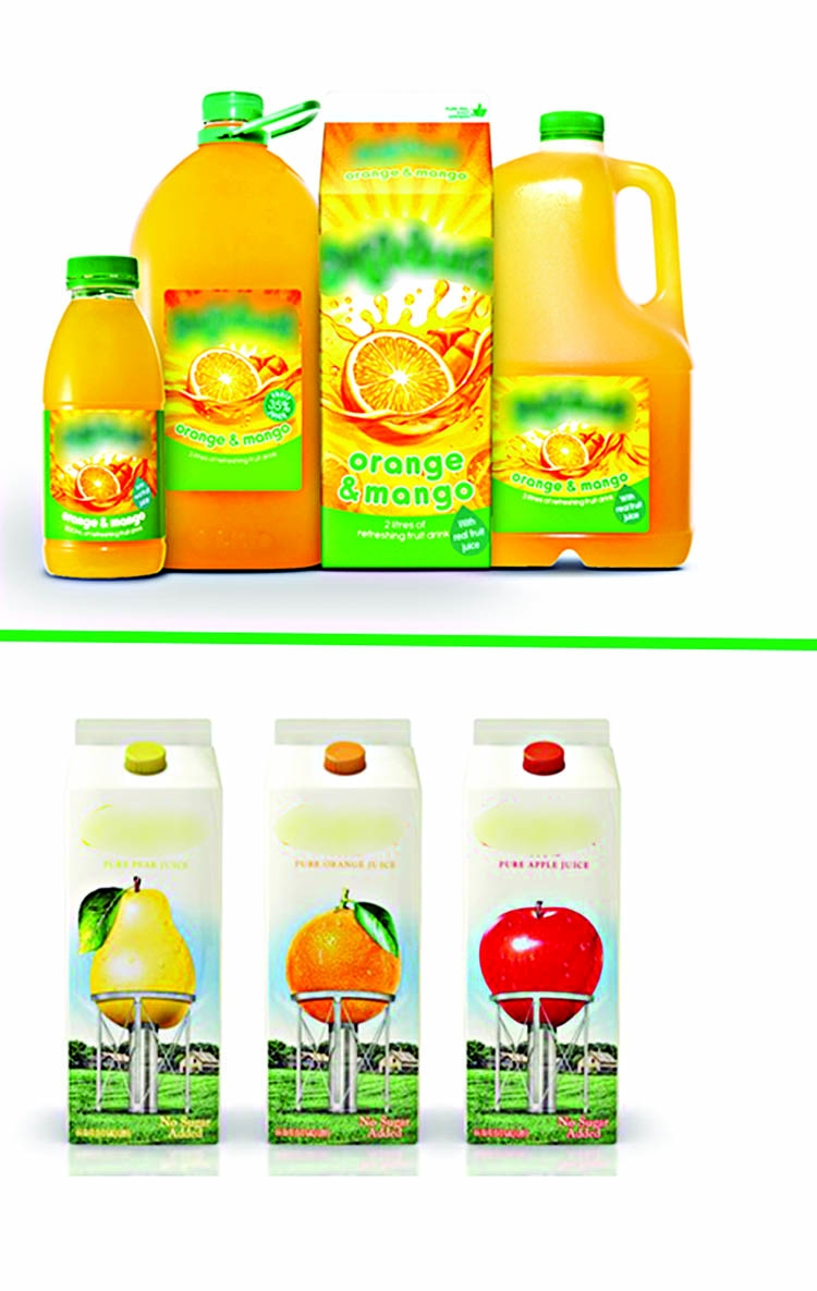 Be careful of packaged fruit juices