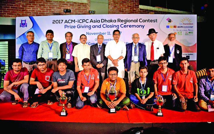 ACM-ICPC regional contest concludes
