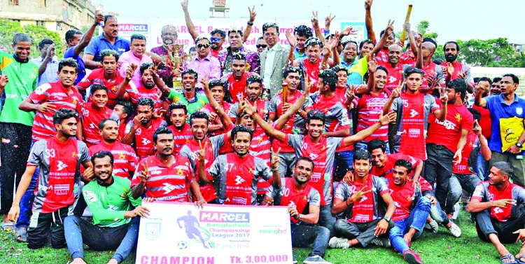 Bashundhara Kings bag BCL 2017 crown