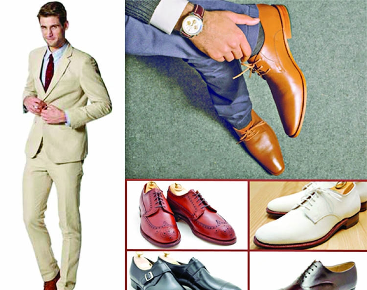 Types of men's footwear