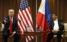 Trump has 'great relationship' with Duterte