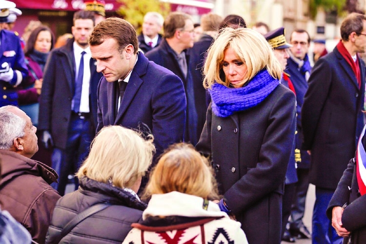 Macron unpopular but in control