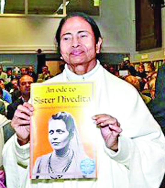 Mamata unveils plaque at Sister Nivedita's UK home