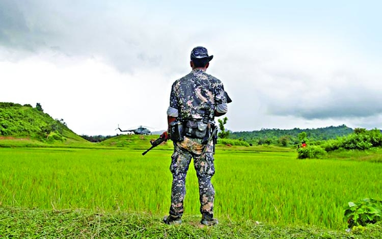 Army general in Rakhine removed