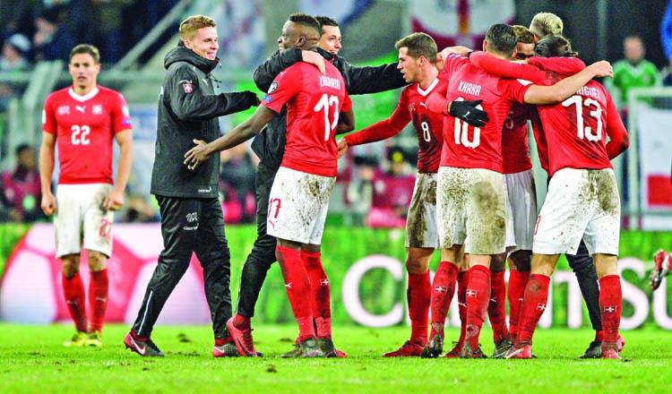 Switzerland, Croatia qualify for World Cup