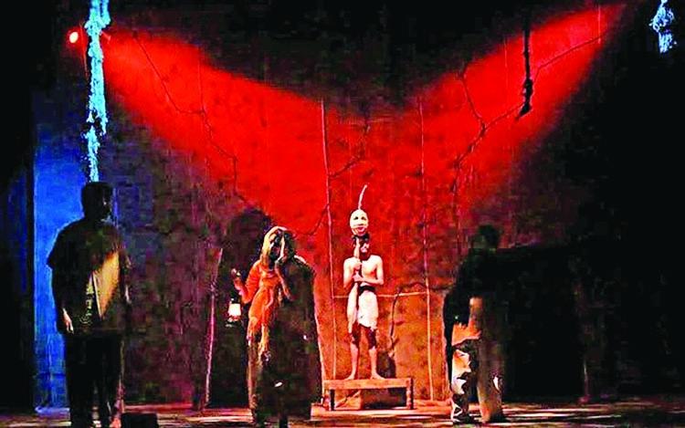 Religious bigotry depicted on stage