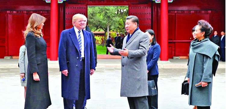 Trump lauds Asia trade promises bigger steps
