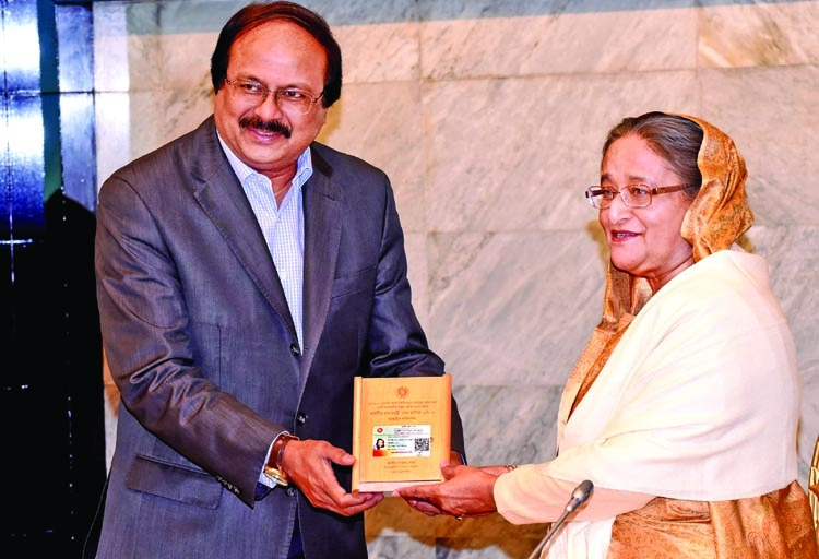 PM honored as regular income tax payer