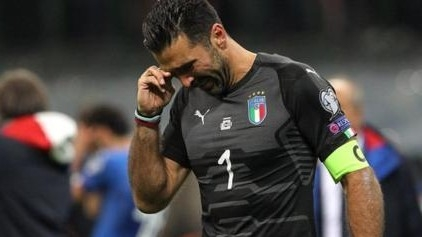 Italy's manager ends career in tears
