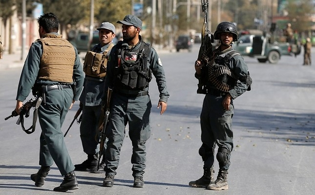 22 Afghan police killed in attack