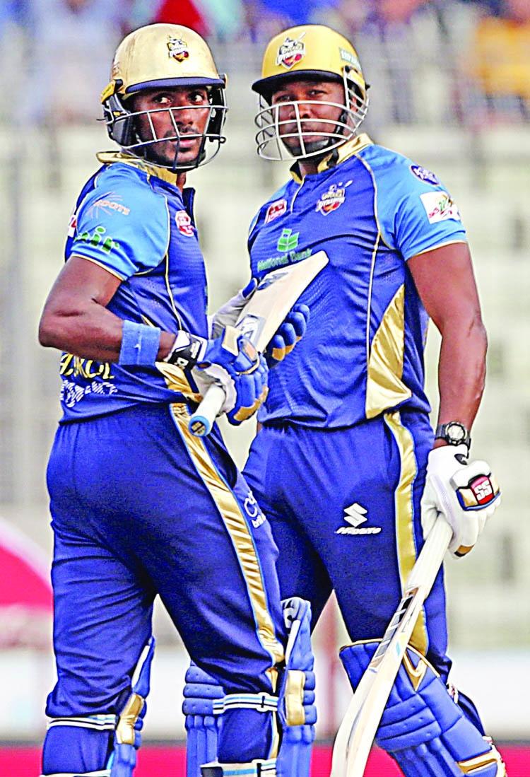 Jahirul, Pollard guide Dhaka Dynamites top of the table