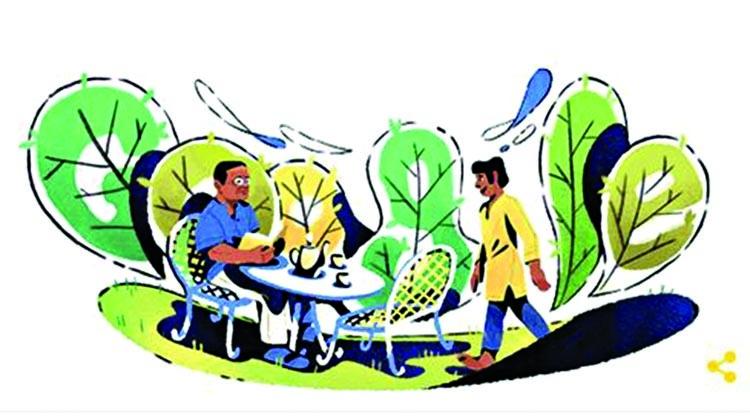 Nuhash ecstatic over Humayun's Google Doodle