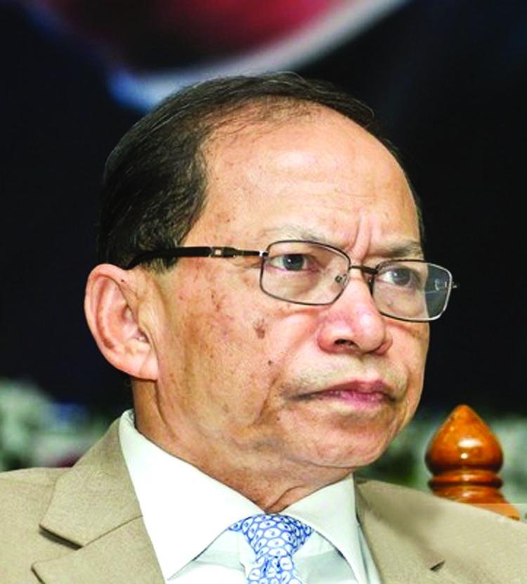 Resignationof CJ Sinha accepted