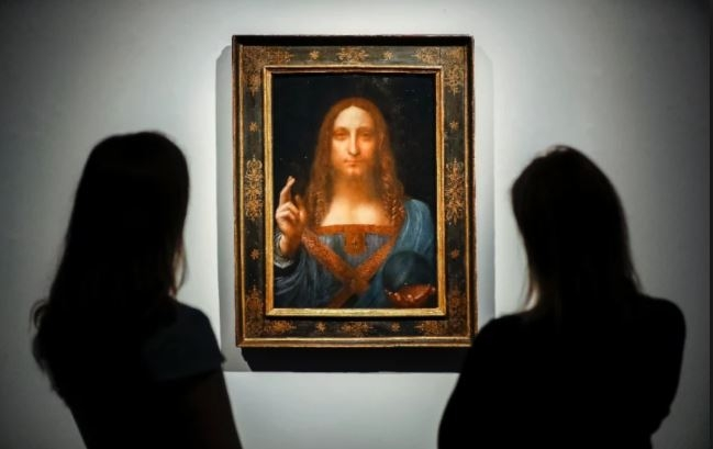 Da Vinci's Christ portrait fetches record $450m