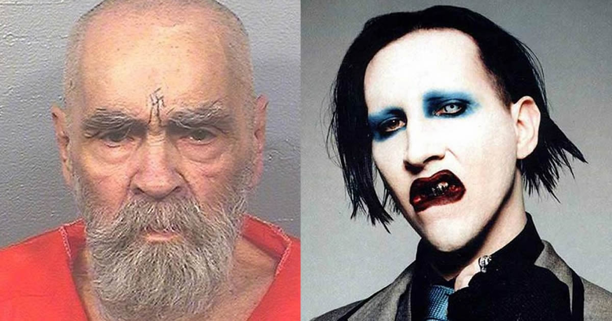 Charles Manson Dies, But People Mourns Marilyn Manson Instead