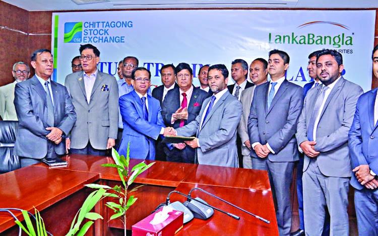CSE, LankaBangla ink deal