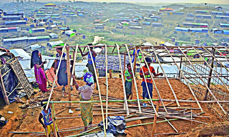 Rohingyas in smaller settlements are at risk of being left behind
