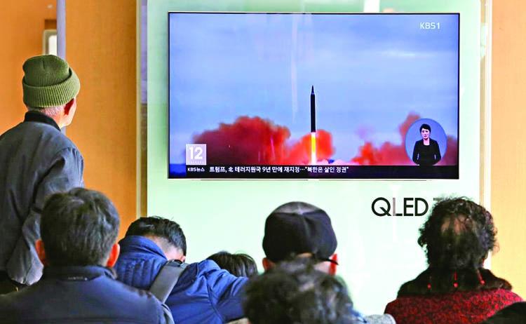 US slaps new sanctions on  N Korea, China companies